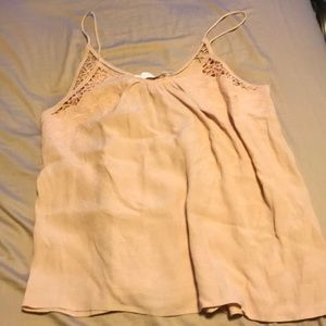 Cropped tank top pink from ASTR sz-L